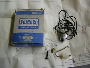 Nos Oem Ford 1967 Fairlane 500 Park Brake Warning Lamp Light Kit Falcon Ranchero