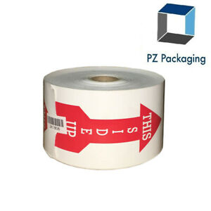 500 Labels 3 x5 Arrow This Side Up Shipping Mailing Handle With Care Stickers
