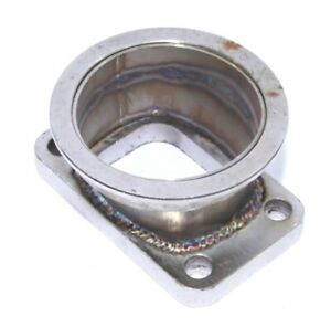 Steel Adaptor For T3 4bolt To 3 id V band Flange