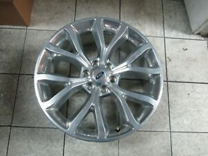22 Ford Expedition F 150 Factory Oem Wheel Rim Single Polished