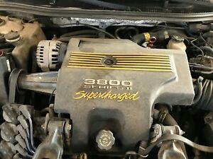 2000 Pontiac Grand Prix Gtp Factory Supercharger Engine Cover buy now save