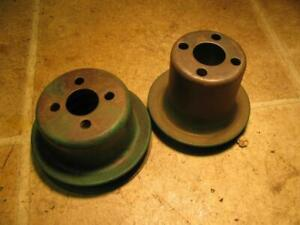 Oliver Tractor Water Pump Pulleys
