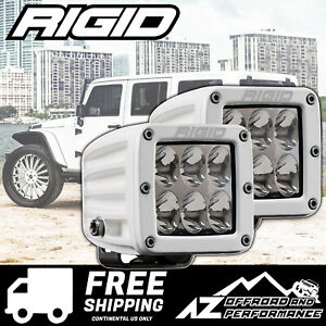 Rigid Industries D series Pro Led Light Bar Pods Driving Lens White 702313