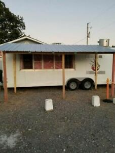 Kitchen Food Concession Trailer Mobile Food Unit In Great Working Condition Fo