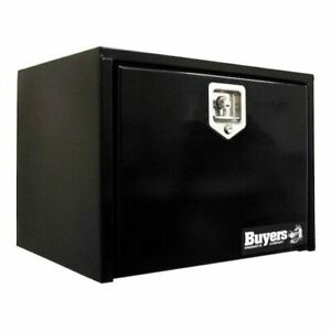 Buyers Products 1702300 Black Steel Underbody Truck Box 18 H X 18 D X 24 W