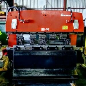 Amada Rg 50 Up acting Press Brake 3507