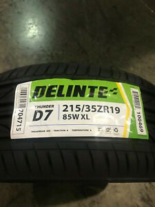 2 New 215 35 19 Delinte Thunder D7 Tires