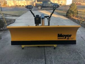 Meyer Lot Pro Light Duty Snow Plow Mount For F150 97 02 May Fit Others