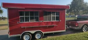 Very Clean 2019 Food Concession Trailer mobile Kitchen With Pro Fire Suppression