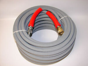 New Flextral Superjet 100 Hot Water Pressure Washer Hose 2 Wire 6000 Psi 3 8