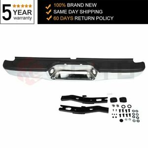 New Complete Rear Steel Step Car Bumper Assembly For 1995 2004 Toyota Tacoma