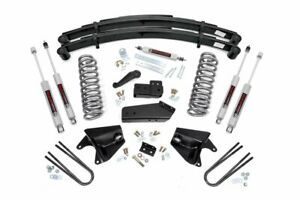 Rough Country 4 Lift Kit Fits 1980 1996 Ford Bronco 4wd Suspension Lift