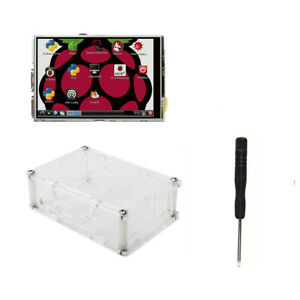 3 5 Inch Tft Lcd Moudle Touch Screen Screwdriver Case Acrylic 2 B 3 Pi