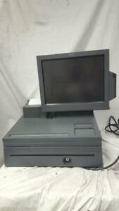Ibm 4858 Surepos 500 Point Of Sale Terminal 23 931 With Screen Issue