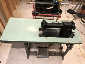 Industrial Sewing Machine Singer 241 12 With Table And Light
