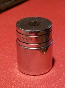 Snap On Tools Usa 3 8 Drive 1 Sae Oil Pressure Sender Chrome Socket A118