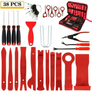 38pcs set Car Trim Door Panel Tool Clip Plier Pry Fastener Remover Auto Repair