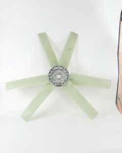 Wing Fan Hvac Assembly Impeller 6 Blades 42 5 Dia 35 Degree Airfoil Profile