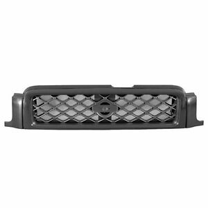 For 1999 2001 Nissan Pathfinder Se Front Bumper Grille Gray W Black Molding New