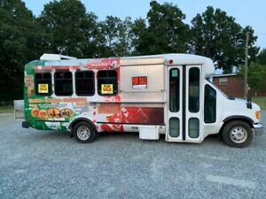 Used Diesel Ford Kitchen Food Truck Loaded W Commercial grade Equipment For Sal