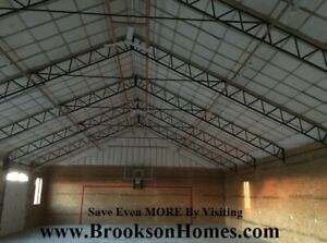Steel Truss 40 Heavy Duty For Pole Barn Used On 12 Centers