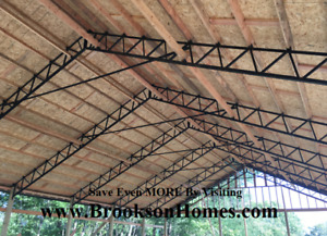 Steel Truss 40 Standard For Pole Barn Used On 10 Centers
