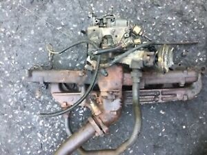 Ford 300 Six Intake And Exhaust Manifold W Carburetor Good Condition