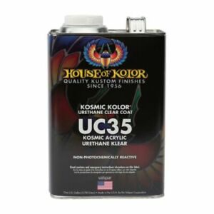 House Of Kolor Uc35 Kosmic Acrylic Urethane Klear Clearcoat Gallon