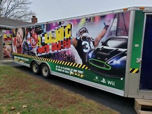 2011 Pace American 24 Enclosed Mobile Gaming Trailer mobile Video Game Biz For