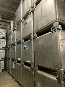 Tote Tank Stainless Steal Tote 350 Gallon