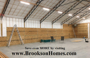 7 Steel Trusses For 40 X 60 Building 10 Centers For Pole Barn