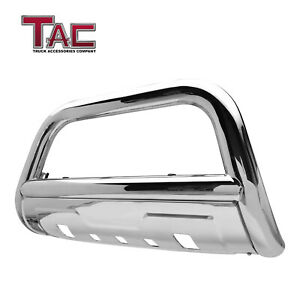 For 2005 2015 Toyota Tacoma 3 5 Chrome Bull Bar Grille Guard Front Bumper