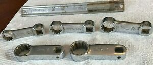 5pc Snap On 3 8 Torque Adapter Set Spline Socket Fres 1 2 3 4 Wrench Lot