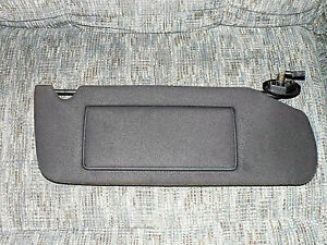 1993 1998 Jeep Grand Cherokee Lighted Sun Visor Passenger Side Sunvisor Black