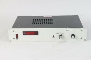Pacific Precision Instruments Model 206 10 High Voltage Power Supply