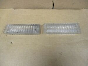 Vintage 1969 Chevelle Turn Signal Marker Light Lens 2qty 5960888 Gm Factory