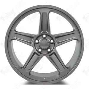 Demon Style 20x9 5 10 5 Gunmetal Wheels set Of 4 Fits Dodge Charger 2006 2019