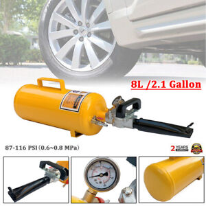 Portable Tire Bead Seater Air Blaster Tool Trigger Seating Inflator 8l Yellow Us