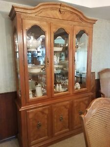 Vintage China Cabinet Pick Up Only