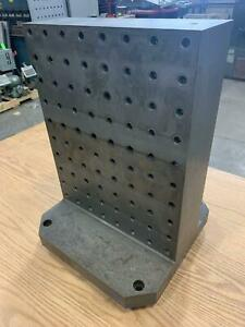 Cnc Tombstone Amf Clamping Angle Double Sided Drilled And Tapped 400mm X 400mm