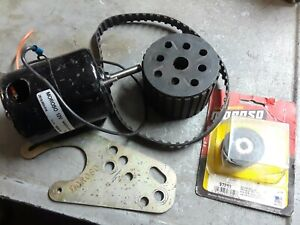 Moroso Electric Water Pump Drive Kit Used New Motor Pulley