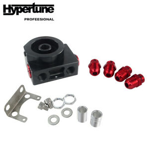 Oil Filter Sandwich Adaptor With An10 Fitting And Remote Block With Thermostat