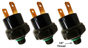 viking Horns 3 Pack 110psi Air Pressure Switch For Train Horn With 1 8 Thread