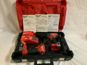 Milwaukee 2796 22 M18 Fuel One key Hammer Drill impact Driver Combo Kit