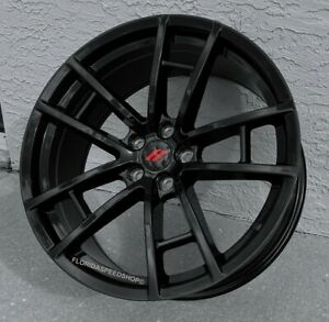 Gloss Black Challenger T a 392 Style Wheels Fits Charger challenger 300