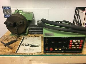 Yuasa Cpnc 500 Controller 8 Cpdx 8 Rotary Indexer Table Cnc Mill Lathe