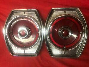 1965 65 Ford Galaxie Tail Lights Tailight Assembly Original Pair