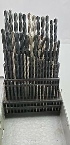 Huot Drill Bit Index Number 1 60 Includes All 60 Drill Bits
