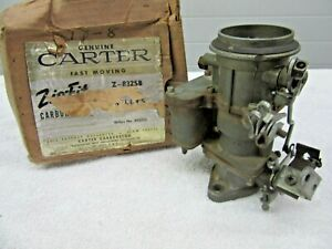 1952 1958 Willys Jeep Cj3b Cj5 Cj6 Fc150 134ci Carter Yf Carburetor 802225 Dp
