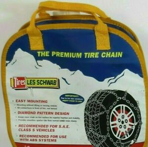 New 2327 s Les Schwab Snow Chains Suv Truck Diamond Quickfit Alpine Premier
